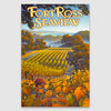 Fort Ross Seaview AVA Canvas Poster Print