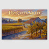 Dry Creek Valley AVA canvas poster print