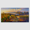 Clear Lake AVA Canvas poster print