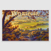 Rutherford AVA poster print on Canvas