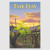 Fair Play AVA Canvas Print
