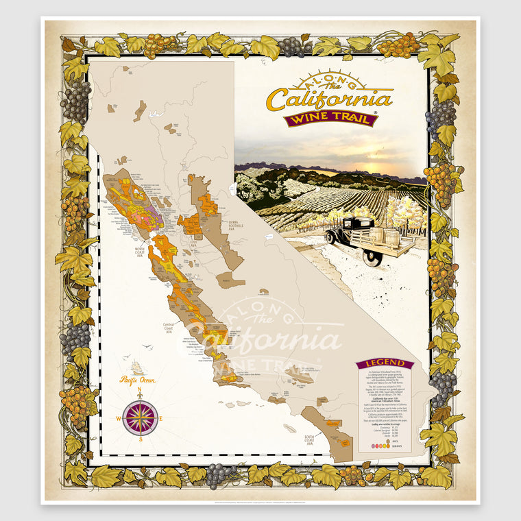 Map of California AVAs