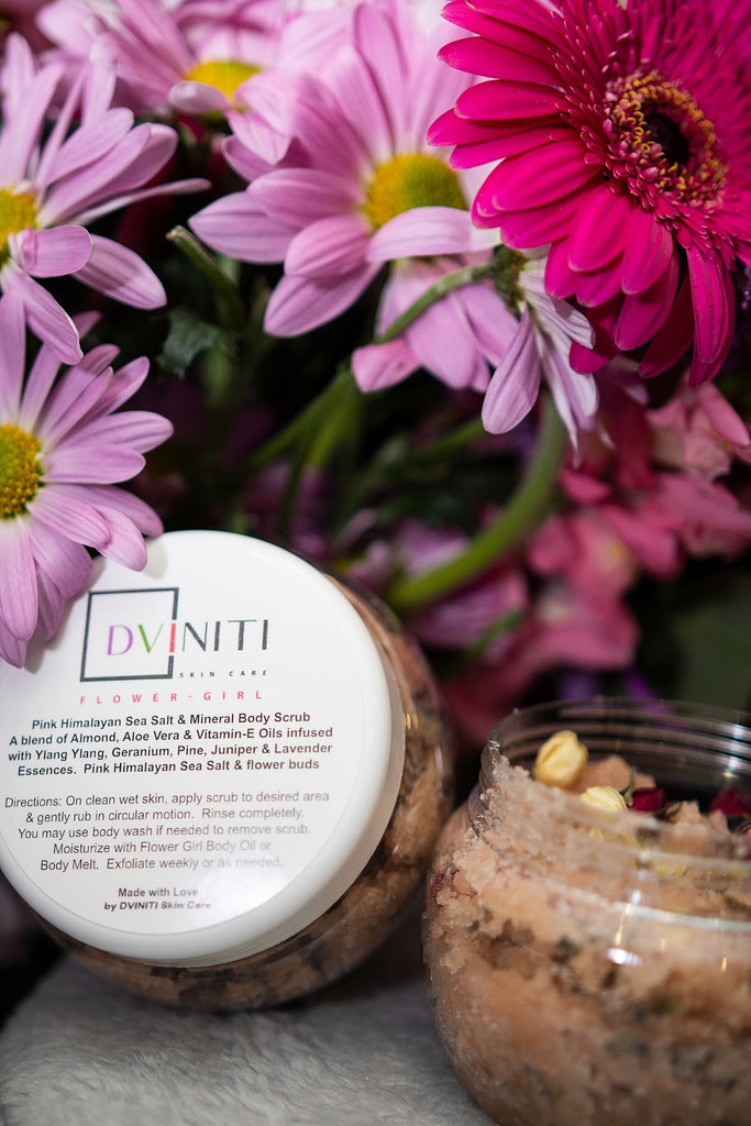 #6 DVINITI Face and Body Scrubs