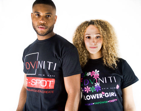 T-SHIRT: G-SPOT MEN'S DVINITI SKIN CARE SWAG