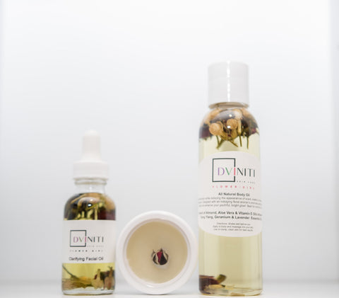 DVINITI Women's Package 1: FLOWER GIRL Face & Body Oil
