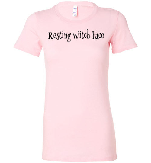 Resting Witch Face Soft Jersey Women