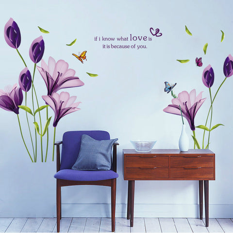 Lily Wall Decal XL