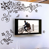 Folwers and Vines Wall Decal - Amazing Steals N Deals