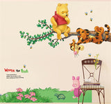 Large Winne The Pooh Wall Decal - Amazing Steals N Deals