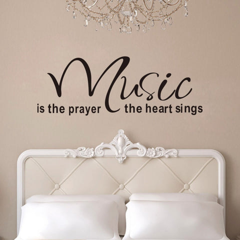 Music Quote Wall Decal