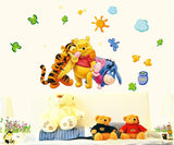 Winnie The Pooh Eyor Piglett and Tigger Too Wall Decal - Amazing Steals N Deals