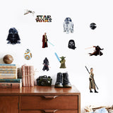 Star Wars Characters Wall Decal - Amazing Steals N Deals