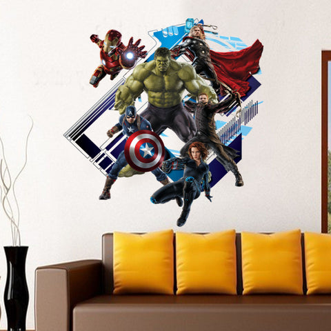 Avengers 3D Wall Decal - Amazing Steals N Deals