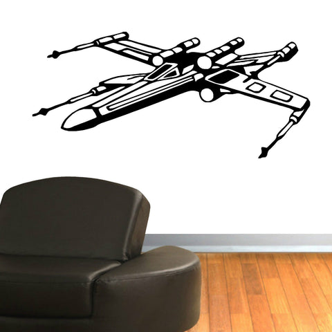 STAR WARS X WING FIGHTER Wall Decal - Amazing Steals N Deals