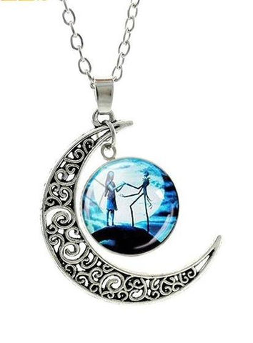 The Nightmare Before Christmas Pendant Necklace - Amazing Steals N Deals