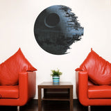 Building Of The Death Star Wall Decal - Amazing Steals N Deals