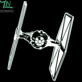 Darth Vader Tie Fighter Wall Decal - Amazing Steals N Deals
