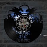 Jack Skellington Nightmare Before Christmas Vinyl Record Clock - Amazing Steals N Deals