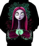 Sally Nightmare Before Christmas Hoodie  - Order Larger Size - Amazing Steals N Deals