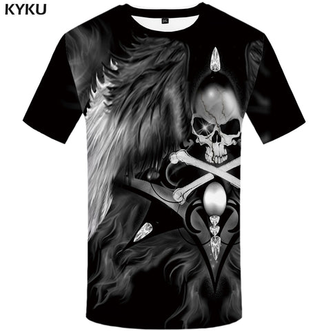 Skull 360 Design T-Shirt - Order Larger Size - Amazing Steals N Deals