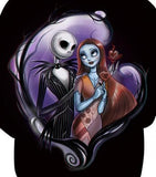 Sally And Jack Nightmare Before Christmas 3D Hoodie  - Order Larger Size - Amazing Steals N Deals