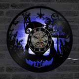 The Nightmare Before Christmas Vinyl Record Wall Clock - Amazing Steals N Deals