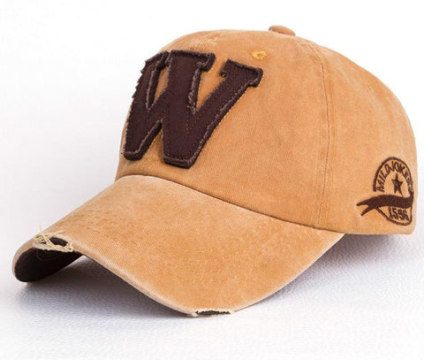 Embroidery Letter Baseball Hat