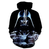 Darth Vader 3D Hoodie  - Order Larger Size - Amazing Steals N Deals