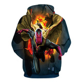 Vision From The Avengers 3D Hoodie - Order Larger Size - Amazing Steals N Deals