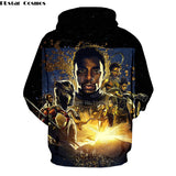 Black Panther 3D Sweatshirt  - Order Larger Size - Amazing Steals N Deals