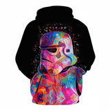 Stormtrooper 3D Printed Hoodie  - Order Larger Size - Amazing Steals N Deals