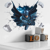 Batman Bustin' Through The Wall Decal - Amazing Steals N Deals