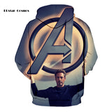 Avengers 3D Printed Hoodie - Order Larger Size - Amazing Steals N Deals