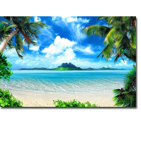 Dreams Of Paradise Canvas Print Wall Art - Amazing Steals N Deals