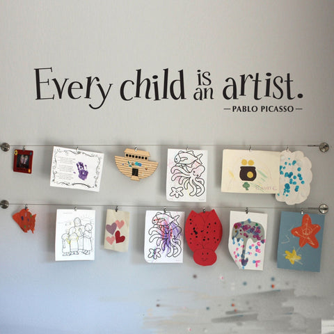 Every Child is an Artist Wall Decal - Amazing Steals N Deals