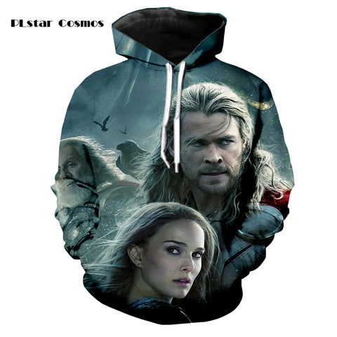 Thor 3D Printed Hoodie - Order Larger Size - Amazing Steals N Deals