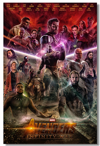Avengers Infinity War Movie Poster - Amazing Steals N Deals