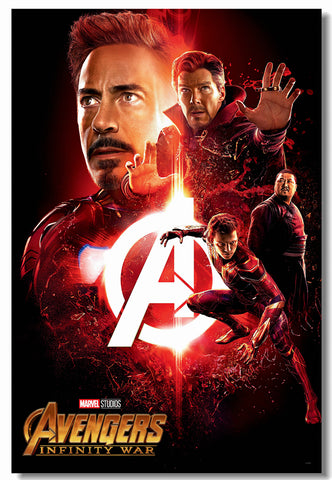 Avengers Infinity War Poster Wall Art - Amazing Steals N Deals