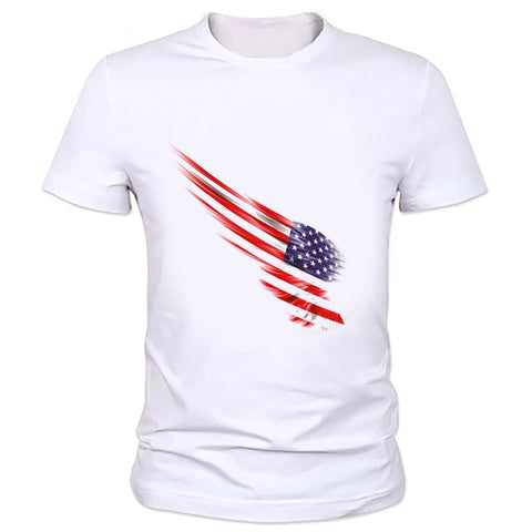 American Flag T-Shirt In 12 Different Designs