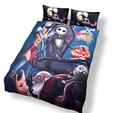 3D Nightmare Before Christmas Duvet Bedding Set - Amazing Steals N Deals