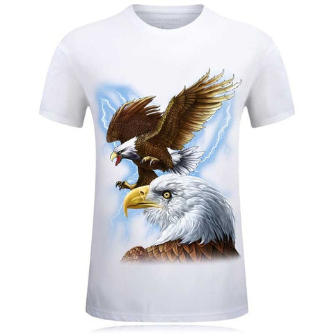Bald Eagle T-Shirt - Order Larger Size