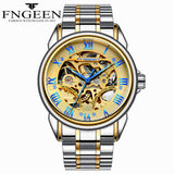 Stainless Steel Skeleton Mens Watches - Amazing Steals N Deals