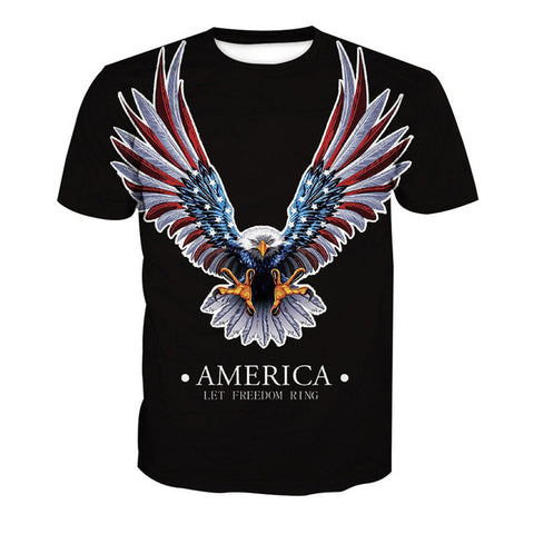 Patriotic T-Shirt - Order Larger Size