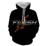 The Flash Printed Hoodie - Order Larger Size - Amazing Steals N Deals