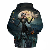 Jack Nightmare Before Christmas 3D Hoodie - Order Larger Size - Amazing Steals N Deals