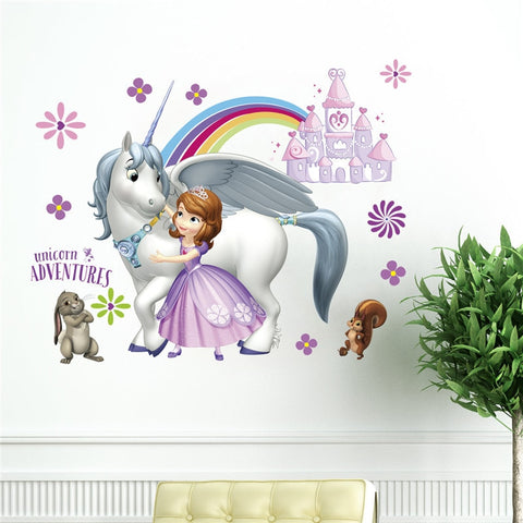 Sofia The First Wall Decal