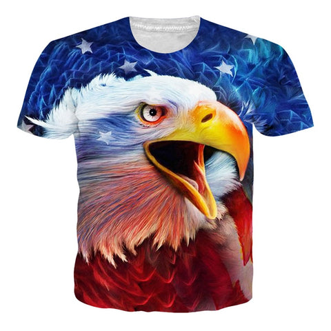 American Eagle 3D Printed T Shirt