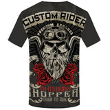 Motorcycle 3D Printed T-Shirt - Order Larger Size - Amazing Steals N Deals