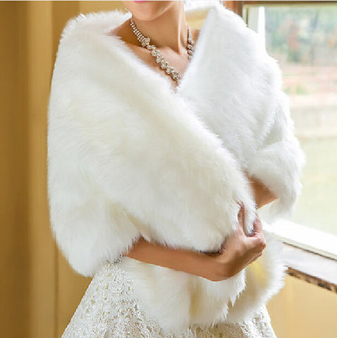 Faux Fur Wrap - Amazing Steals N Deals