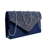 Rhinestone Evening Clutch Purse